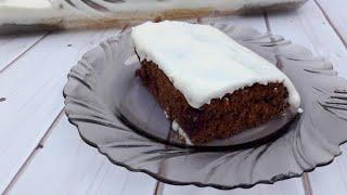 Вишня в снегу шоколадный пирог с вишней и нежным кремом