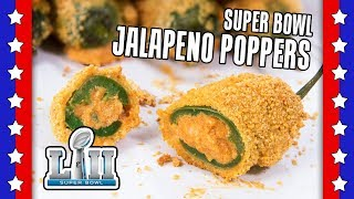 Baked Jalapeno Poppers Recipe - ULTIMATE Super Bowl Recipes by Warren Nash