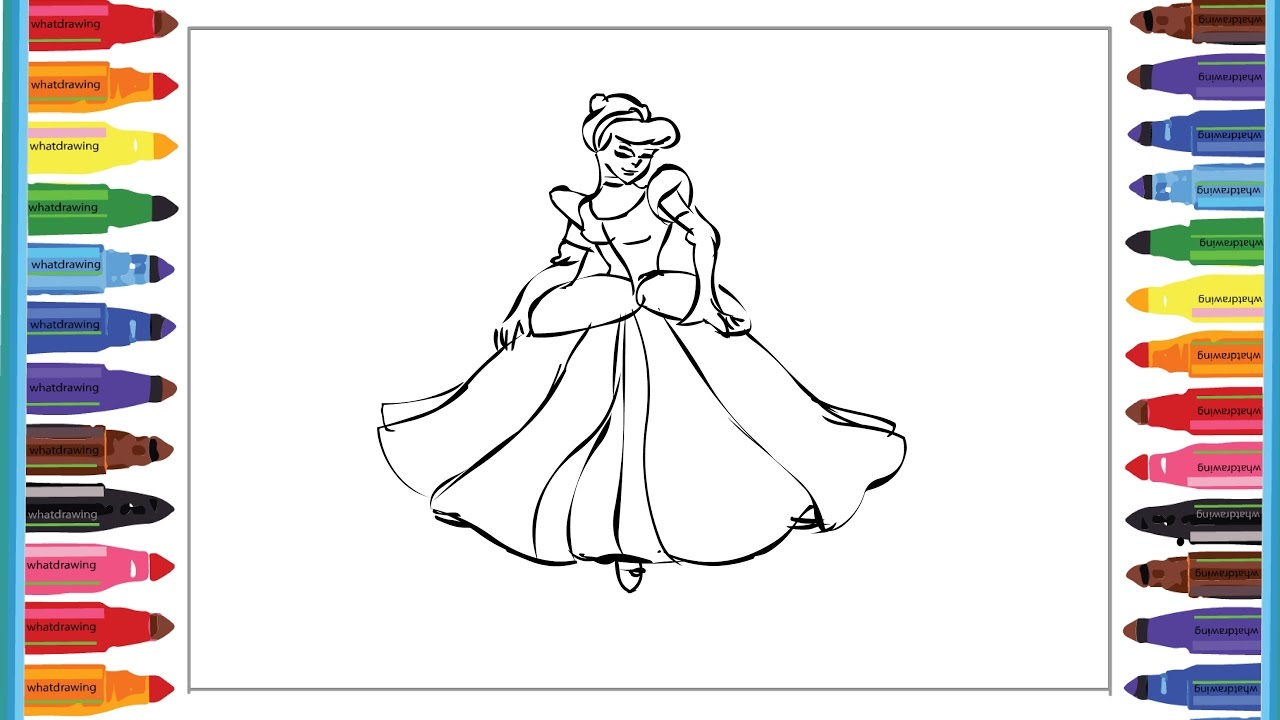 disney princess drawing pages to color for kids l coloring pages l