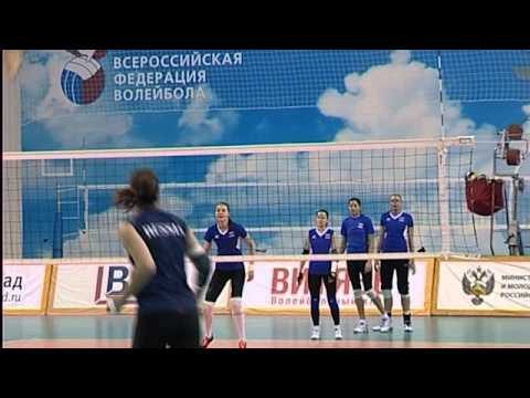 Женская сборная России по волейболу готовится к матчу в Японии