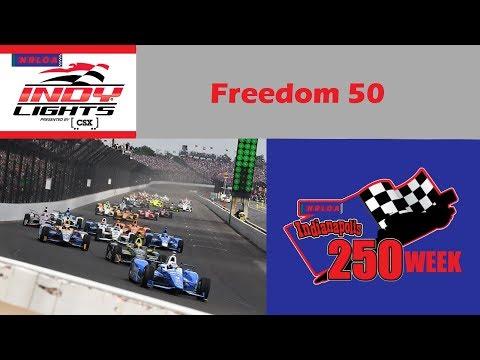2018 NRLOA CSX IndyLights Race 5/12 | Freedom 50