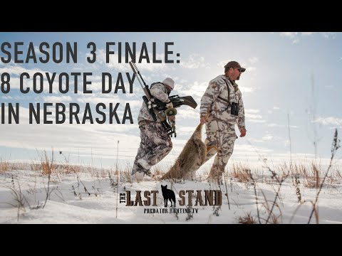 The Season 3 Finale: 8 Coyote Day in Nebraska | The Last Stand S3:E10 | Howling for Coyotes