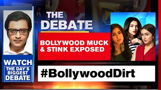 #BollywoodDirt: Casting Couch, Drugs & Underworld Links Exposed | The Debate With Arnab Goswami