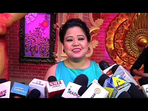 Bharti Singh Funny Interview At Comedy Dangal Show Launch