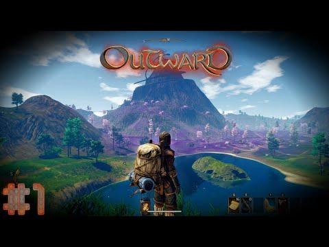 Начало - безымянные герои | Outward (RPG выживание) прохождение перепрохождение #1