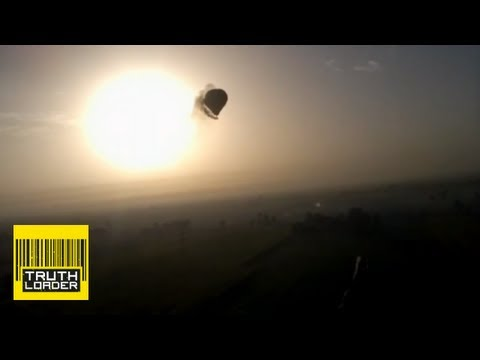 Dramatic footage shows hot air balloon crash in Luxor, Egypt - Truthloader