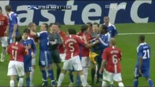 Manchester United vs Chelsea Fight