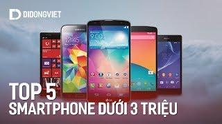 5 smartphone giá rẻ dưới 3 triệu tốt nhất tháng 9