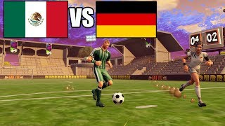 Deutschland vs Mexiko - Hooligans stürmen das Spielfeld! - Fortnite Fußball WM 2018