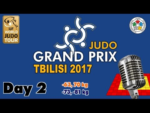 Judo Grand-Prix Tbilisi 2017: Day 2