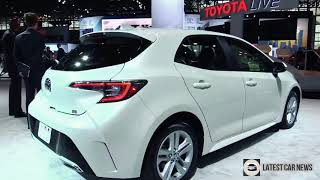 2019 Toyota Corolla Hatchback - Exterior and Interior in HD 1080p