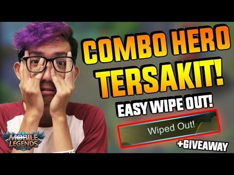 COMBO 3 HERO TERSAKIT INI WAJIB BIKIN MUSUH NANGIS!! - Mobile Legend Indonesia