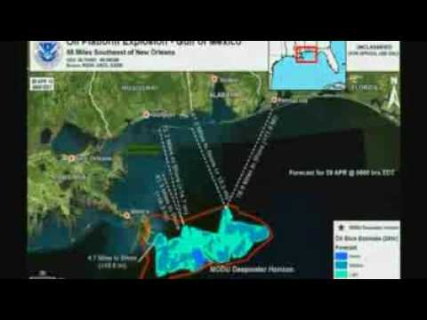 US oil spill closing in on coast