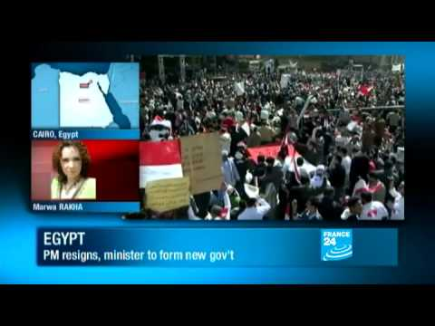 Egypt: Egyptian prime minister resigns amid calls for purge