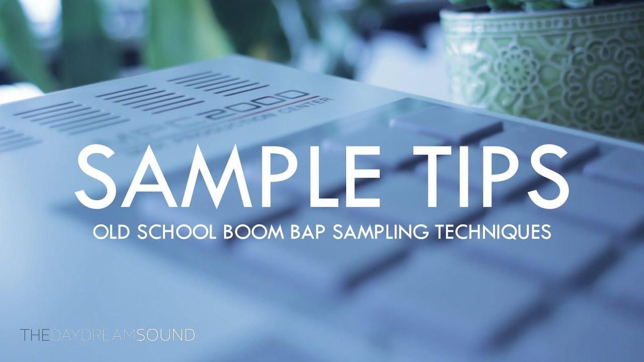 Old School Boom Bap Sampling Techniques
