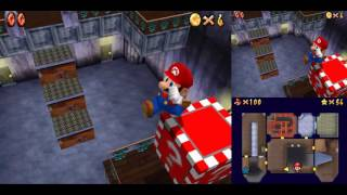 hd sm64ds seek the 8 red coins 0x b presses