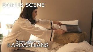 KUWTK | Kim Kardashian Gets Pranked By Kourtney & Khloé While She Naps | E!