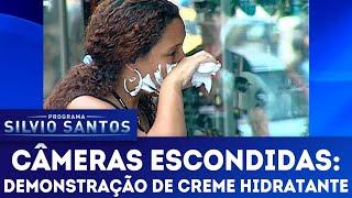 Demonstração de Creme Hidratante | Câmeras Escondidas (06/05/18)