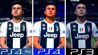 FIFA 19 | PS4 Pro VS PS4 VS PS3 | Graphics Comparison