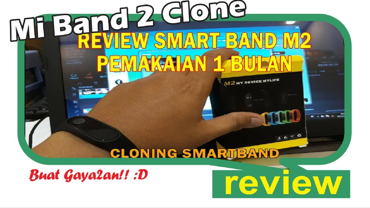 Review M2 Heart Smartband Oled Smart Band Smartwatch Youtube Mirip Xiaomi Mi