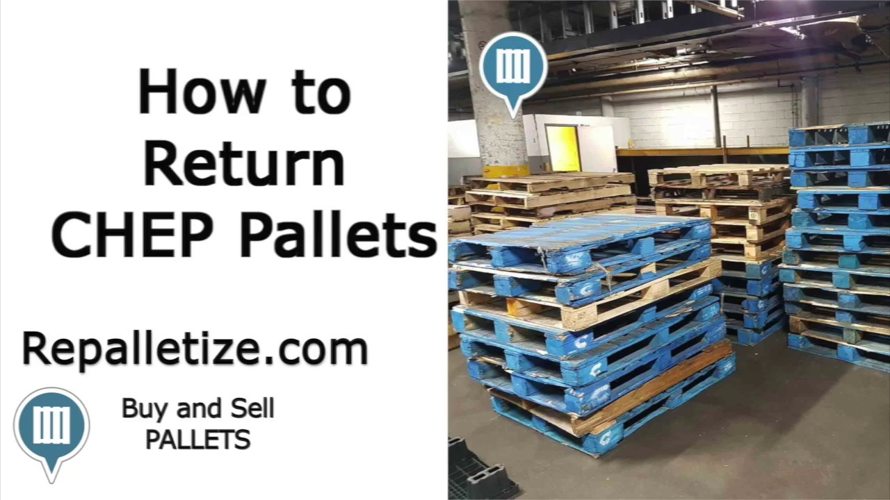 How to Return CHEP Pallets