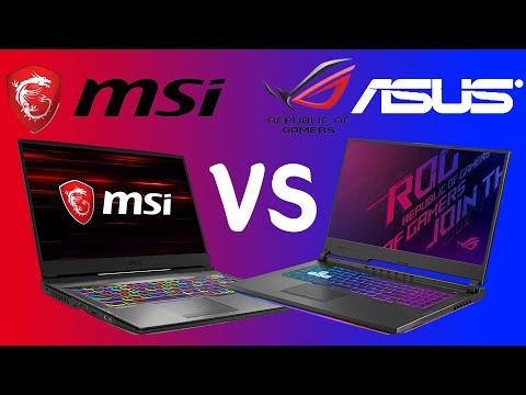 ASUS VS MSI 게이밍 노트북 비교분석 / GP75 VS G731GU
