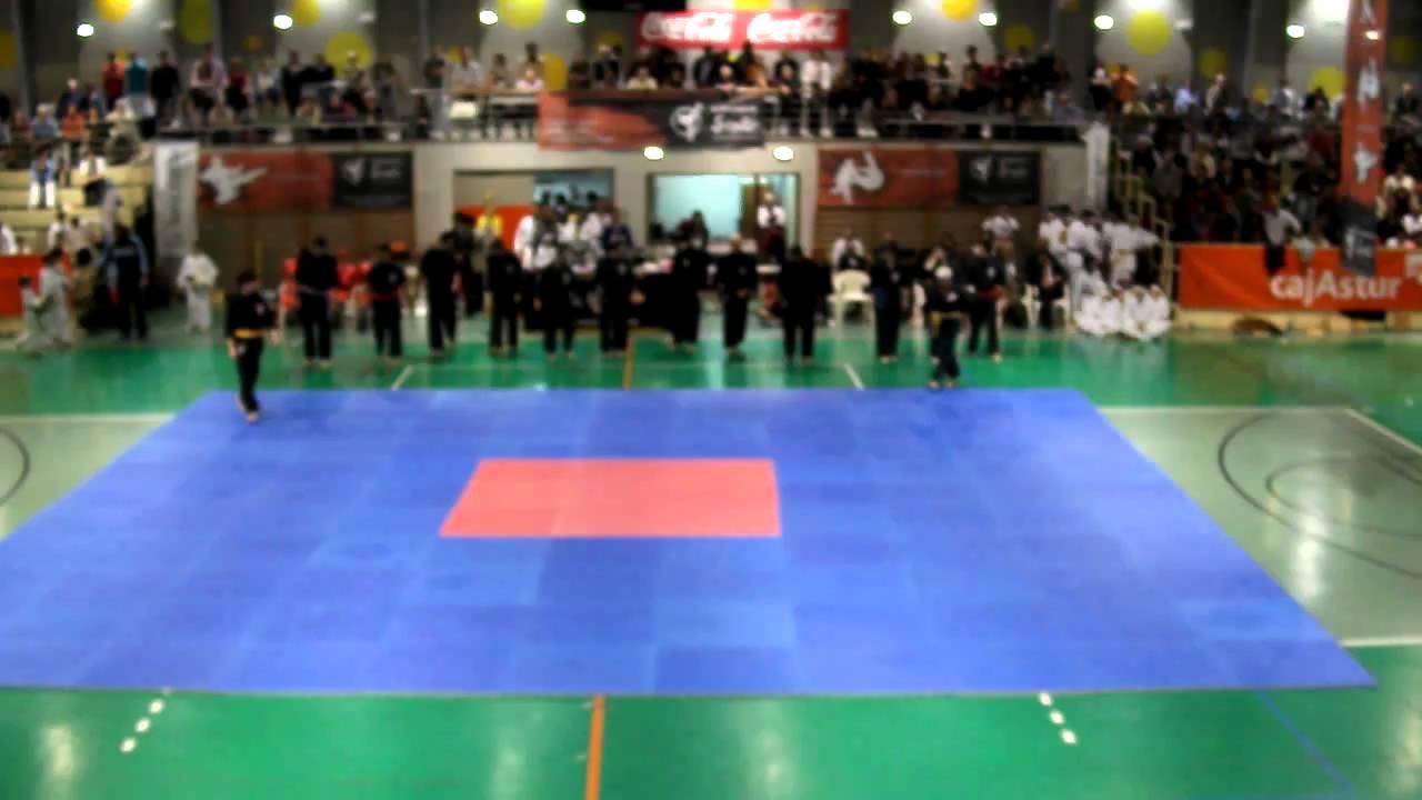Exhibici n kenpo gimnasio yin yang gij n 26 03 11 video 1 for Gimnasio yin yang