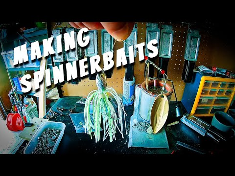 How To Build A Spinner Bait - Using The Do-It Ultra Minnow Spinner Jig Mold