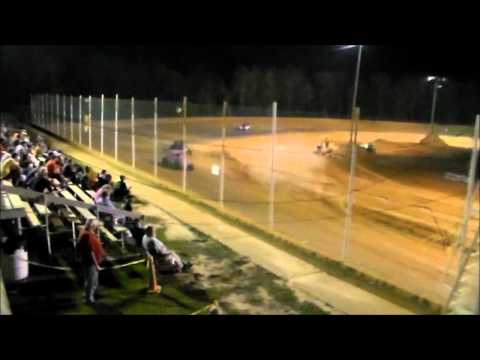 Southern Vintage Racing Association Feature Race 9/19/15 at NWFL Speedwayr