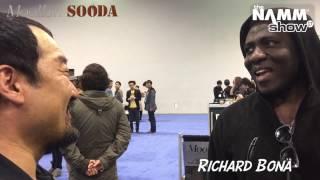 26 Moollon SOODA NAMM - Richard Bona
