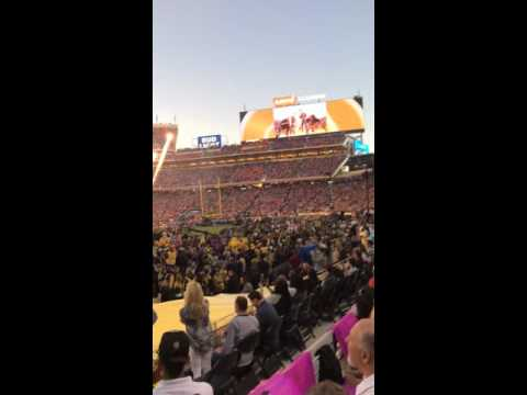 Coldplay, Bruno Mars and Beyonce live at Super Bowl 50 Part 4