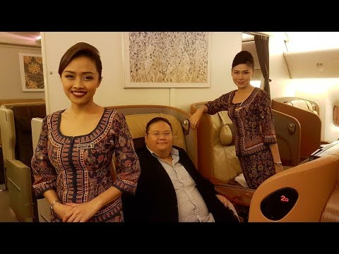 Singapore Airlines First Class Suite Experience + 5 Lounges and Business Class Review