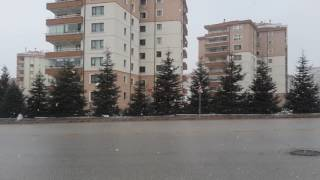 Ankara Kar Yağışı Şubat 2017