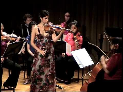 Danielle Belen plays Piazzolla Otono Porteno