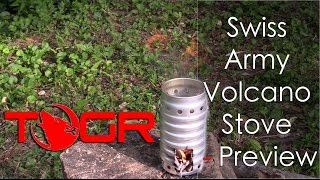 It's a Volcano! - Swiss Army Volcano Stove - Preview