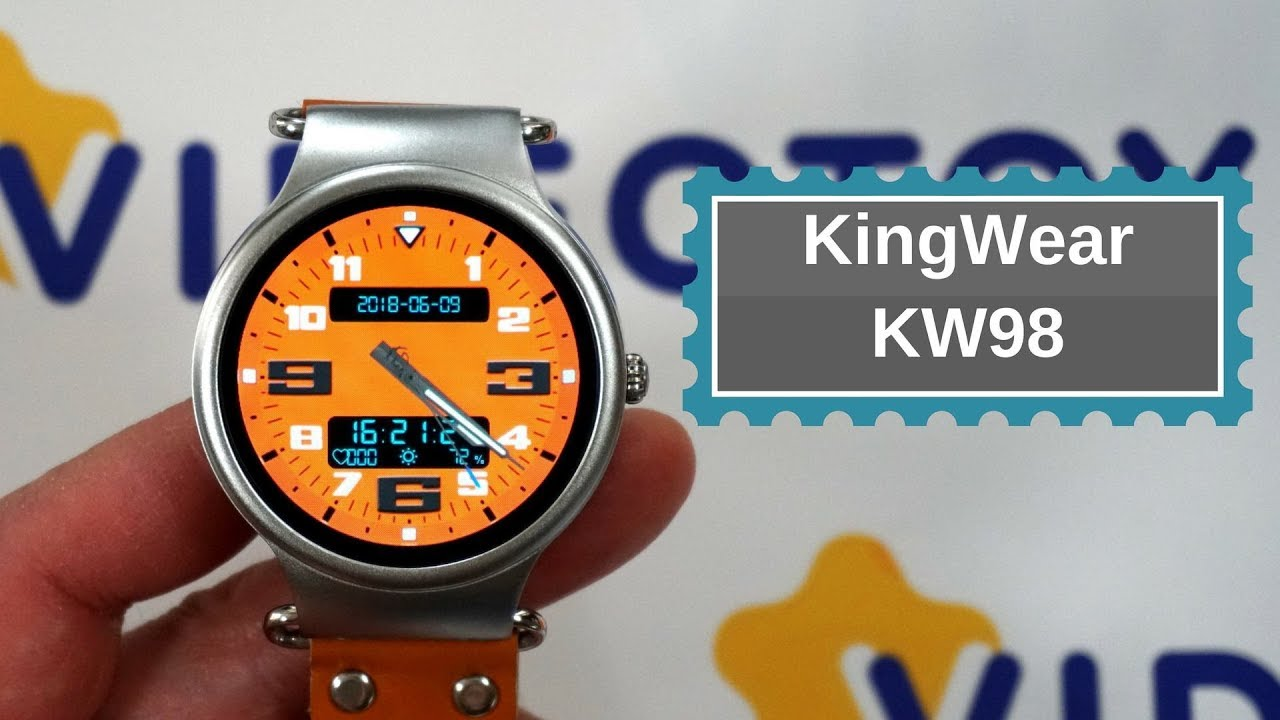 KingWear SmartWatch KW98 - умные часы на Android Smart Watch