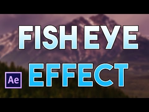 How To Create A FishEye Effect In After Effects