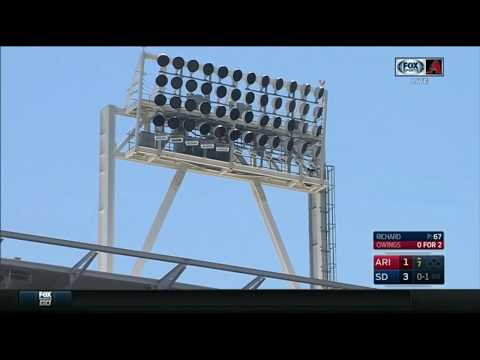 Drone makes crash landing at Petco Park ( San Diego , California )