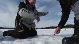 Рибалка в Швеції, Сторуман - зима (1/2 частина) / Ice fishing, Sweden