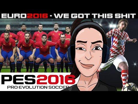 [1st IMPRESSIONS] PES2016 - Croatia vs. Spain