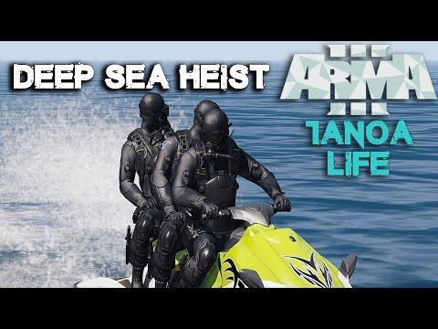 Arma 3 Tanoa Life Mod -  Drug Runners - Deep Sea Heist