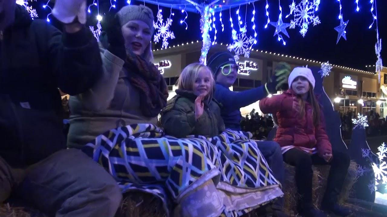 Keizer Holiday Lights Parade 2017 - YouTube