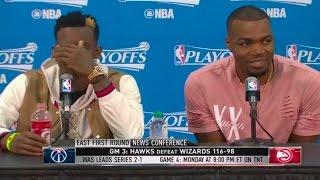 Millsap & Schroder Dominate Game 3 Vs. Wizards | Atlanta Hawks Highlights | 4.22.17