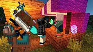 """Minecraft AQUA #20 - """"Epickie przedmioty od villagerów!"""""""