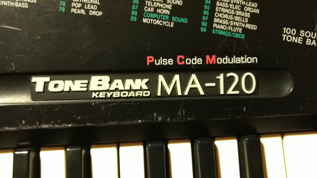 Casio Keyboard Demo Song