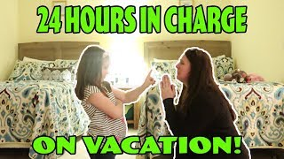 24 Hours In Charge On Vacation! 24 Hour Yes Day Challenge ! Mom Can't Say No