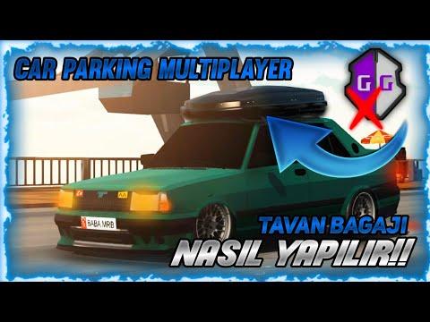 CAR PARKİNG TAVAN BAGAJ NASIL YAPILIR !!!