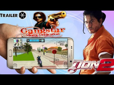 Gangstar Miami Vindication HD Android Trailer|| Don2 Style 🔫||Download Link Coming Soon
