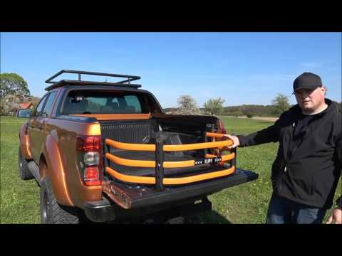 Ford Ranger Ladeflächenteiler Ladeflächenverlängerung
