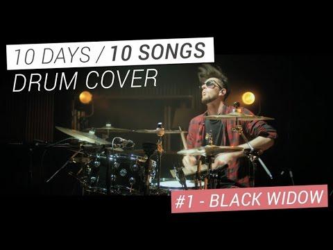 PV Nova - Black Widow / DRUM COVER [Valentin Provendier]